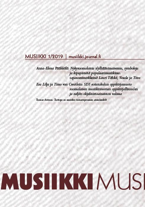 Näytä Vol 49 Nro 1 (2019)